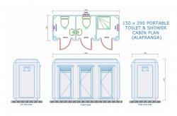 Toilet/Shower Cabin Plans
