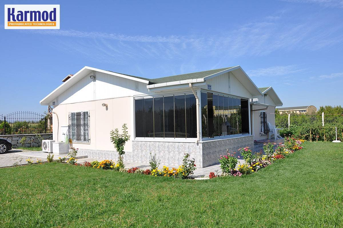 Affordable Prefab Homes Family Modular Housing For Africa