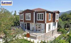 Family modular housing for Africa