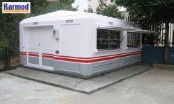 Portable kiosks buildings