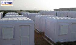 Portable kiosks buildings manufacture