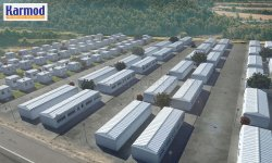 refugee camp housing